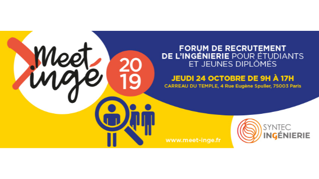 Meet'ingé, le 18e forum de recrutement